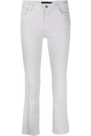 J Brand Ruby slim-fit cropped jeans