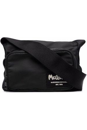 Alexander McQueen Heren Schoudertassen - Logo-patch crossbody bag