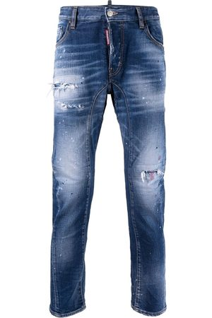 Dsquared2 Tidy Biker distressed-effect jeans