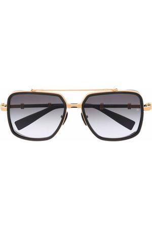 Balmain Eyewear Gradient-frames aviator sunglasses