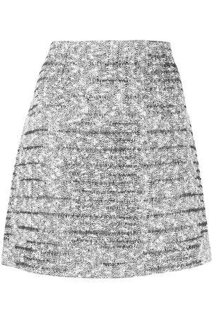 Paule Ka Tweed Lurex mini skirt