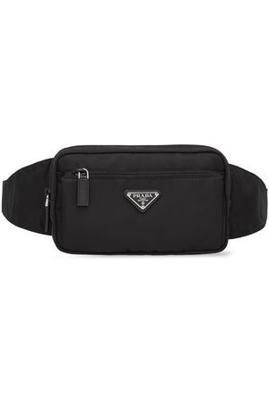 Prada Logo-plaque belt bag