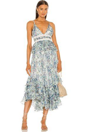 ROCOCO SAND Braw Strappy Maxi Dress in