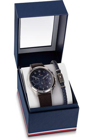 Tommy Hilfiger Horloges TH2770106 Giftset Horloge met Armband Zilverkleurig