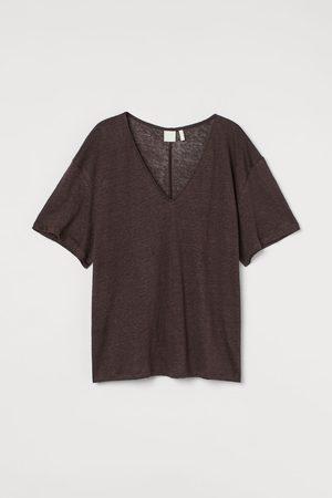 H&M Linnen T-shirt