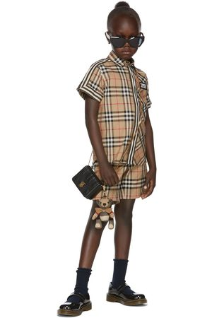 Burberry Shorts - Kids Vintage Check Tailored Shorts