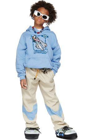 Happy99 Hoodies - SSENSE Exclusive Kids Blue Lenticular Hoodie