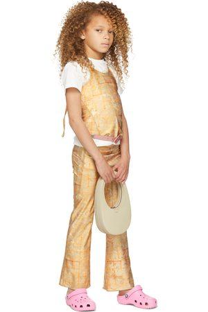 Charlotte Knowles Tops - SSENSE Exclusive Kids Beige Halcyon Tank Top
