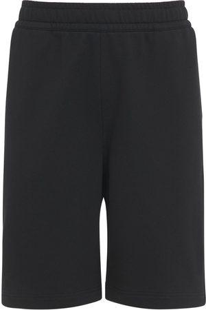 Burberry Heren Sport - Logo Print Cotton Jersey Sweat Shorts