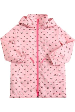 MARC JACOBS (THE) All Over Print Hooded Nylon Raincoat