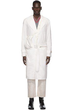 Maison Margiela Heren Trenchcoats - Off-White Recycled Packable Trench Coat
