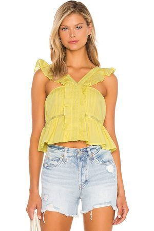 Tularosa Brit Embroidered Top in