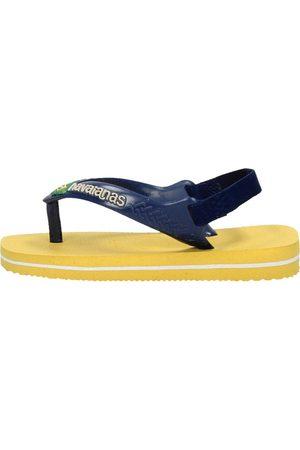 Havaianas Baby Slippers - Baby Brasil Logo ||