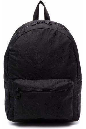 Alexander McQueen Skull-embroidered backpack