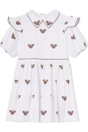 Burberry Meisjes Feestjurken - Thomas Bear-motif dress