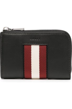 Bally Heren Portefeuilles - Stripe-detail wallet