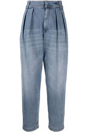 Brunello Cucinelli Dames Bootcut - Tapered wide-leg jeans
