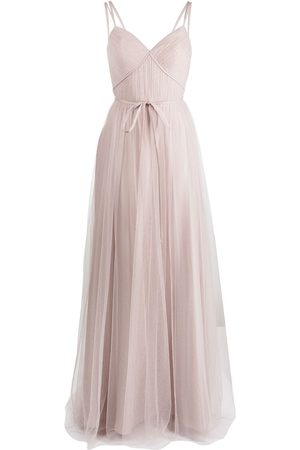 Marchesa Notte Tuscany tulle strappy dress