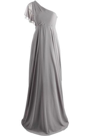 Marchesa Notte Cremona one-shoulder dress