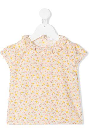 KNOT Flower Power short-sleeved blouse