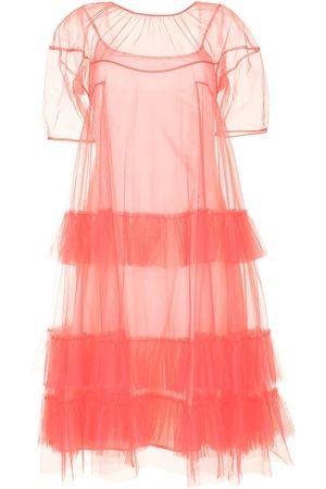Molly Goddard Dames Feestjurken - Ruffled tulle dress