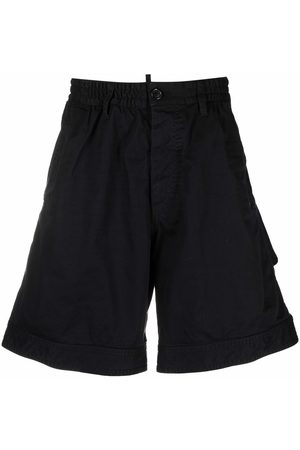 Dsquared2 Logo-patch knee-length shorts