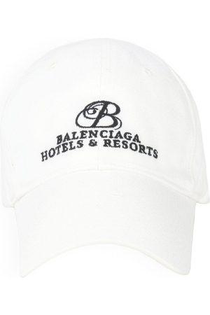 Balenciaga Resorts logo-embroidered cap