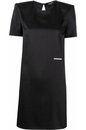 Dsquared2 Dames Feestjurken - Structured-shoulder minidress