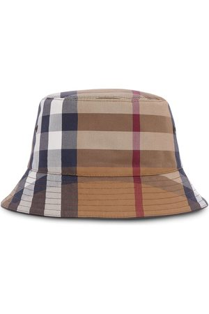 Burberry Check cotton-canvas bucket hat