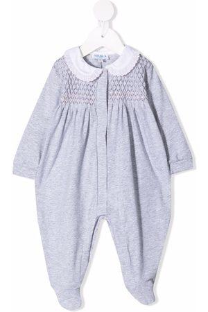 SIOLA Pyjama's - Textured panel stretch-cotton pajama