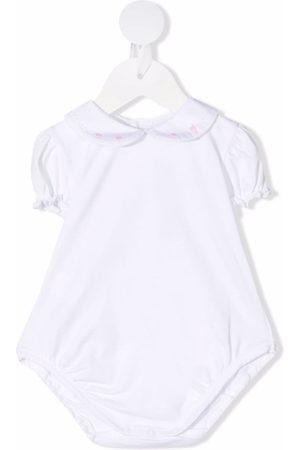 SIOLA Pyjama's - Ruffle-trim embroidered body
