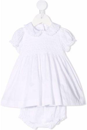 SIOLA Meisjes Feestjurken - Ruffle-trim cotton dress