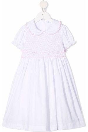 SIOLA Ruffle-trim cotton dress