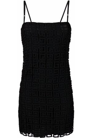 Givenchy 4G embroidered slip dress