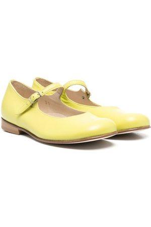 PèPè Marina leather ballerina shoes