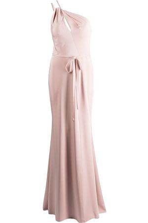 Marchesa Notte Novara one-shoulder dress