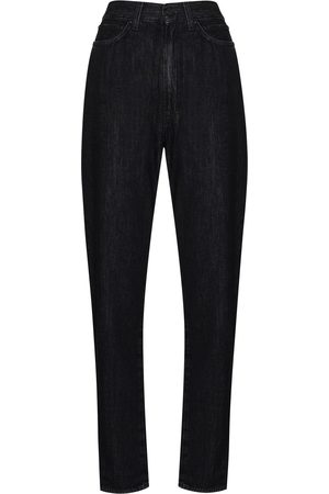 Made In Tomboy High-waist tapered cut jeans