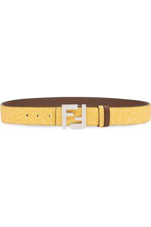 Fendi Heren Riemen - FF-buckle belt