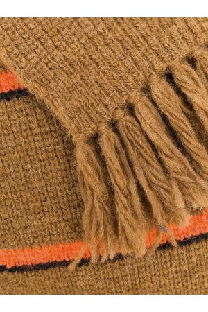 Ami Contrasted Stripes Scarf