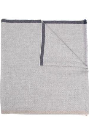 Brunello Cucinelli Frayed edge wool scarf