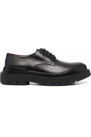 Salvatore Ferragamo Polished-finish derby shoes