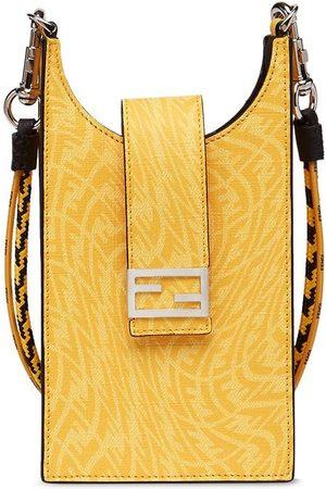 Fendi Monogram pattern phone holder