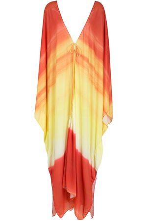 AMIR SLAMA Printed beach dress