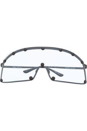 Rick Owens Curved-edge sunglasses