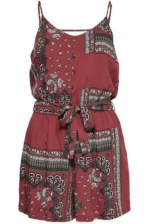 ONLY Dames Playsuits - Printed Playsuit Dames Rood