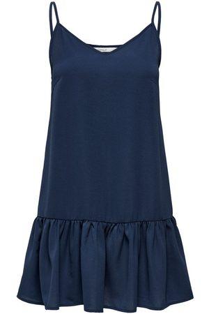 ONLY Short Dress Dames Blauw