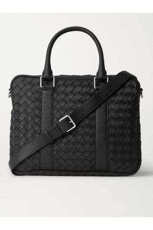 Bottega Veneta Heren Laptotassen - Intrecciato Leather Briefcase