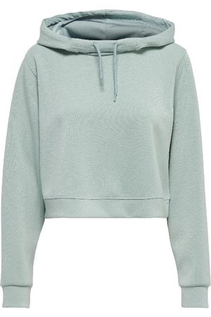 Only Play Dames Sweaters - Onpdess cropped hood sweat