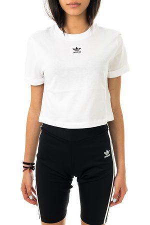 adidas Dames Crop Top - T-shirt donna crop top gn2803