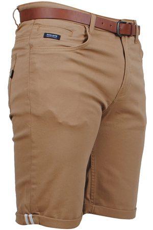 Deeluxe Heren Shorts - Heren short met gratis riem city camel